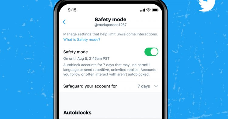 Twitter's new Safety Mode autoblocks abusive accounts