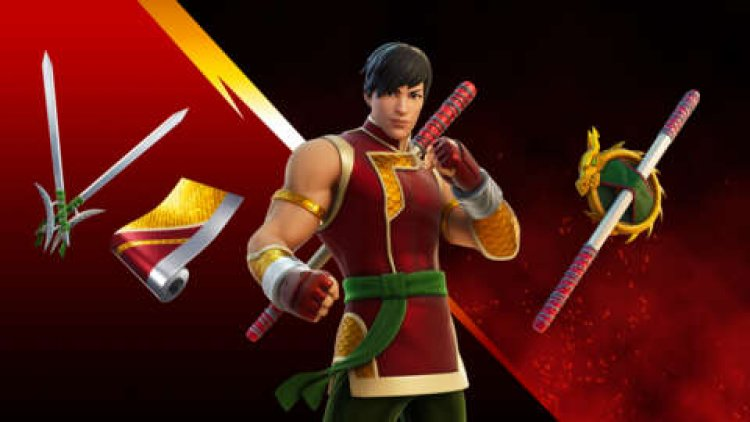 Fortnite Shang-Chi Skin Now Available
