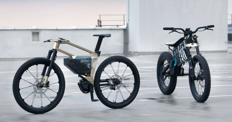 BMW's e-bike concepts are motorcycles outside the city, bicycles within