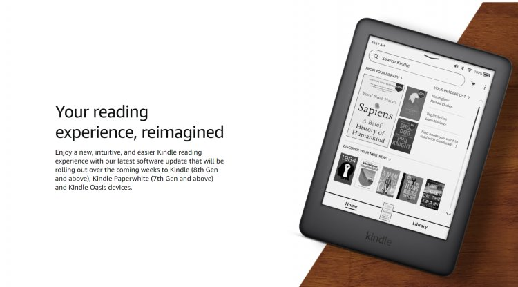 Amazon is updating Kindles to make them easier to navigate