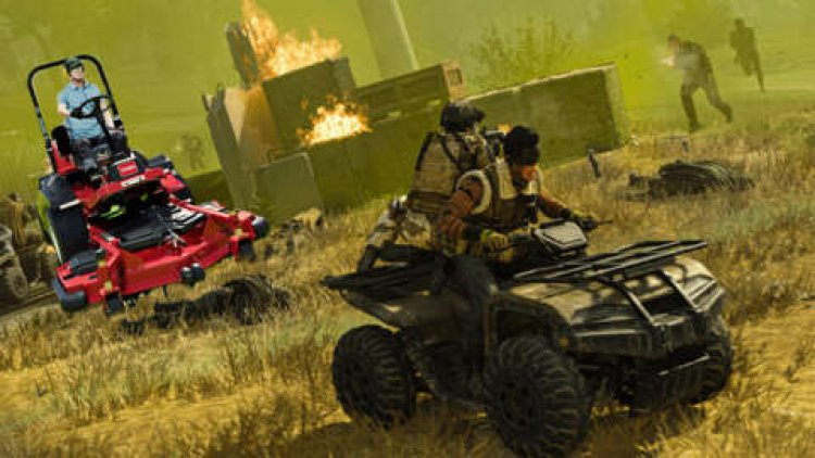 Lawn Mowing Simulator Briefly Had More Viewers On Twitch Than Call Of Duty: Warzone