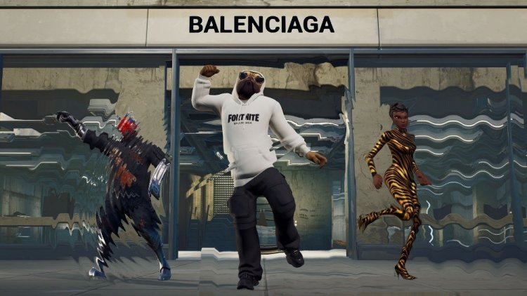 Balenciaga is now selling Fortnite-themed drip