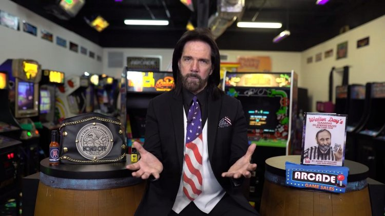 Billy Mitchell's Old Website Now Debunks His Controversial Pac-Man High Scores