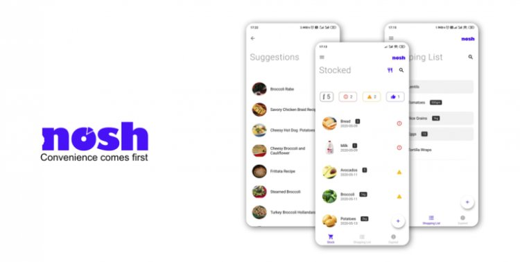 Nosh uses AI to help people and businesses cut down on their food waste