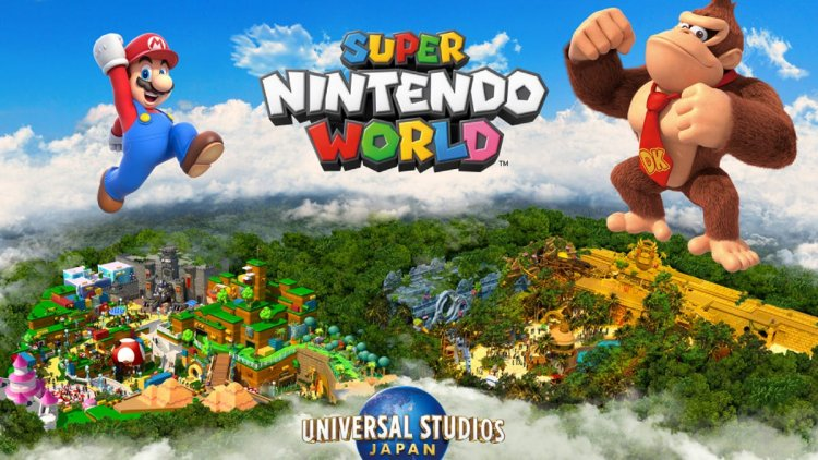 Universal Studios Japan Is Adding A New Donkey Kong Themed Area
